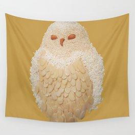 Owlmond 3 Wall Tapestry