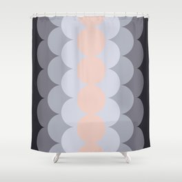 Gradual Paledogwood Shower Curtain