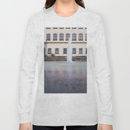 Castle fountain Long Sleeve T-shirt
