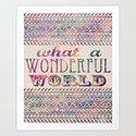 What A Wonderful World by jenndalyn
