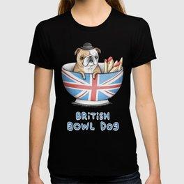 British Bowl Dog T-shirt