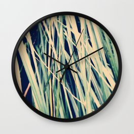 Close to pampas Wall Clock
