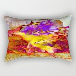When The Sun is Setting Rectangular Pillow