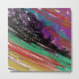 Design stylish  ETH.  Rainbow colors vint. Metal Print