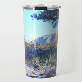 Red Rock Winter in Sedona by Reay of Light Travel Mug