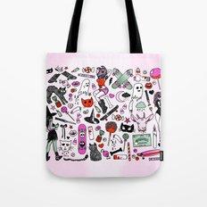 CREEPY CRUISERS Tote Bag
