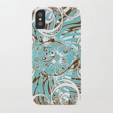 Look of Hearts iPhone X Slim Case