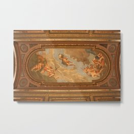 Photo of New York Public Library Ceiling Mural Metal Print