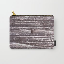Gray Brown colorful watercolor Carry-All Pouch