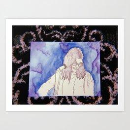 BØRNS WATERCOLOR Art Print