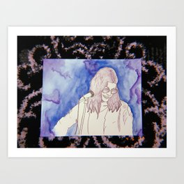 BØRNS WATERCOLOR Art Print