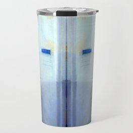 Portrait of a Trashcan Travel Mug