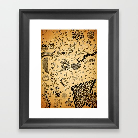 Therapy (: Framed Art Print