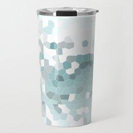 Abstract Mosaic Travel Mug