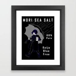 Mori Salt Framed Art Print