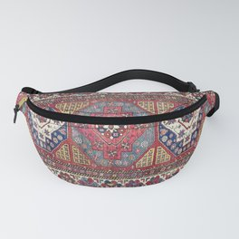 Shahsavan Azerbaijan Antique Tribal Persian Rug Print Fanny Pack