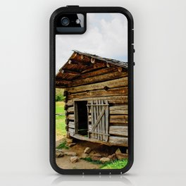 Historic Log Cabin iPhone Case