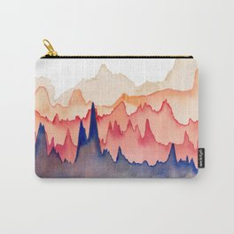 Watercolor Abstract No. 5 Carry-All Pouch