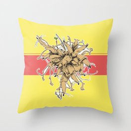 Sorkar Throw Pillow