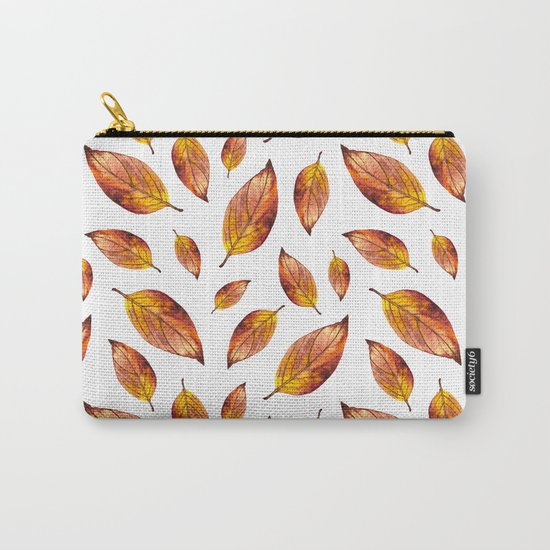 Autumn Leaves Pattern 03 Carry-All Pouch