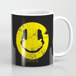 Music Smile Coffee Mug