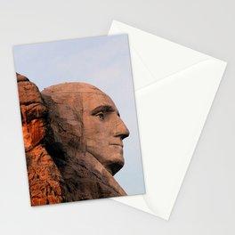 George Washington (Mount Rushmore) Stationery Cards