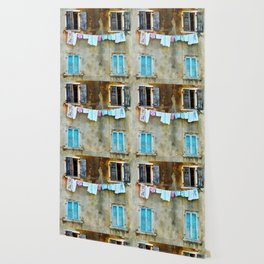 Clothes Drying Wallpaper