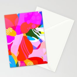 Abstract Florals I Stationery Cards
