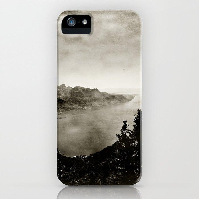 Vintage Switzerland iPhone Case