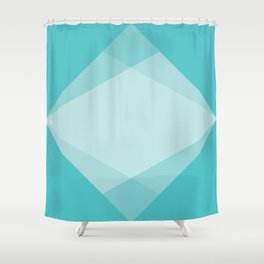 geometric 54 water sigil variaton 1 Shower Curtain