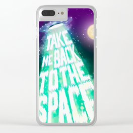 Take me back to the space Clear iPhone Case