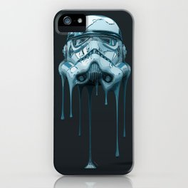 Stormtrooper Melting Dark iPhone Case