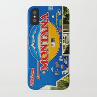 montana iPhone & iPod Cases featuring Montana by americansummers