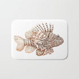 Lionfish Bath Mat