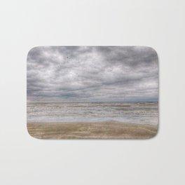 Sand Waves Clouds Bath Mat