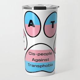 Cis-people Against Transphobia (CATS) Travel Mug