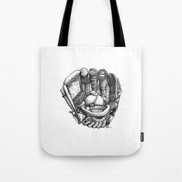 Baseball Glove Tote Bag