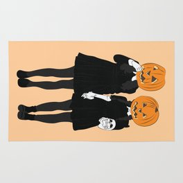 Pumpkin Heads Rug