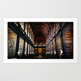 Bookworm's Dream Art Print
