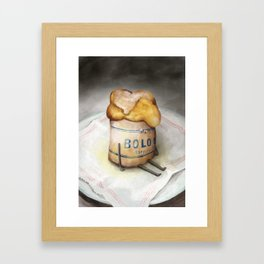Bolo de Arroz - The Loner Framed Art Print