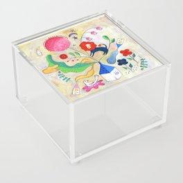 Red lion had a dream Acrylic Box