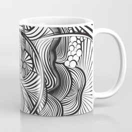 The Ebb and Flow - B&W Coffee Mug