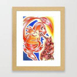 Tribal Char Framed Art Print