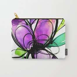 Ecstasy Bloom 10 by Kathy Morton Stanion Carry-All Pouch