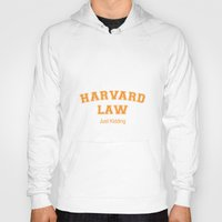 law Hoodies featuring Law Student by Antaka Overdose