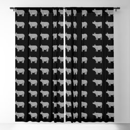 rhinos Blackout Curtain