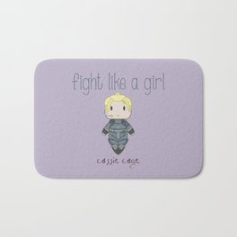 Fight Like a Girl 28 - Cassie Cage Bath Mat