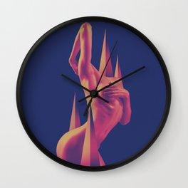 The Edge of Beauty Wall Clock