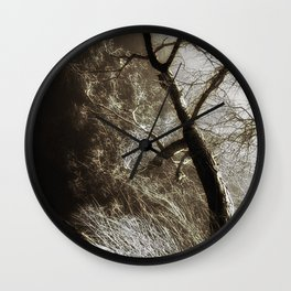 Beyond The Eyes Wall Clock