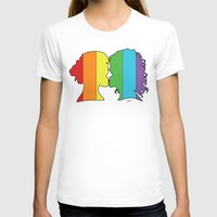 lesbian T-shirts featuring Lesbian Love  by Winter Graphics